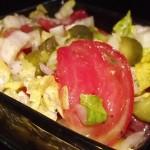 romaine and cornichone salad helen's cooking